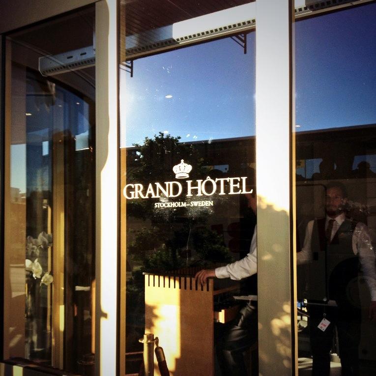 Grand Hotel Entrance
